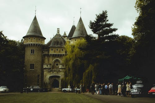 Beige and Gray Castle