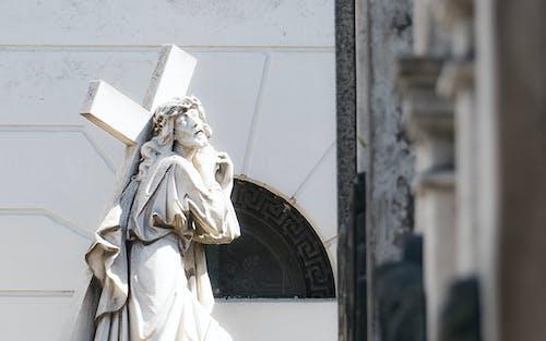 十字架, 墳墓, 耶穌, 雕像 的 免費圖庫相片