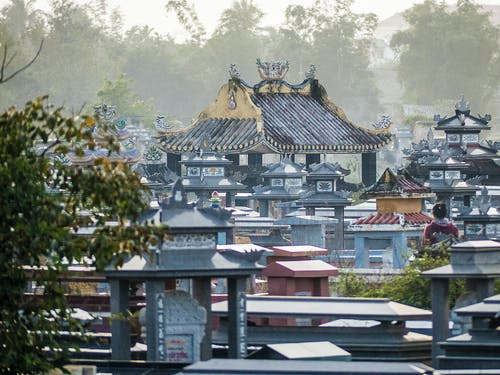 墓園, 有霧, 越南人 的 免費圖庫相片