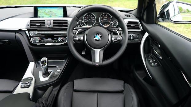 Free stock photo of car, vehicle, BMW, car interior