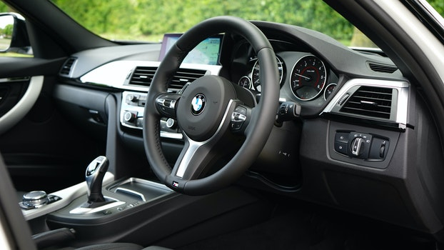Free stock photo of car, vehicle, BMW, car interior
