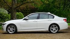 car, vehicle, white