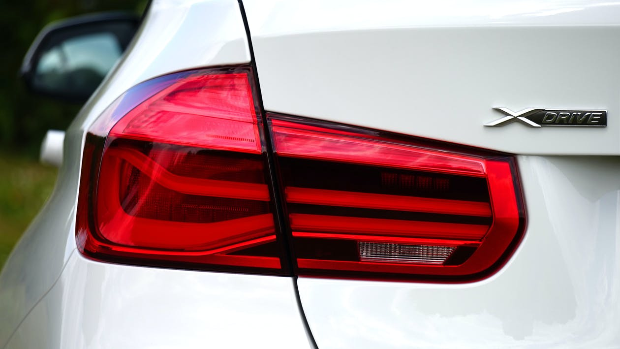 Close-up Photography of Vehilce Taillight