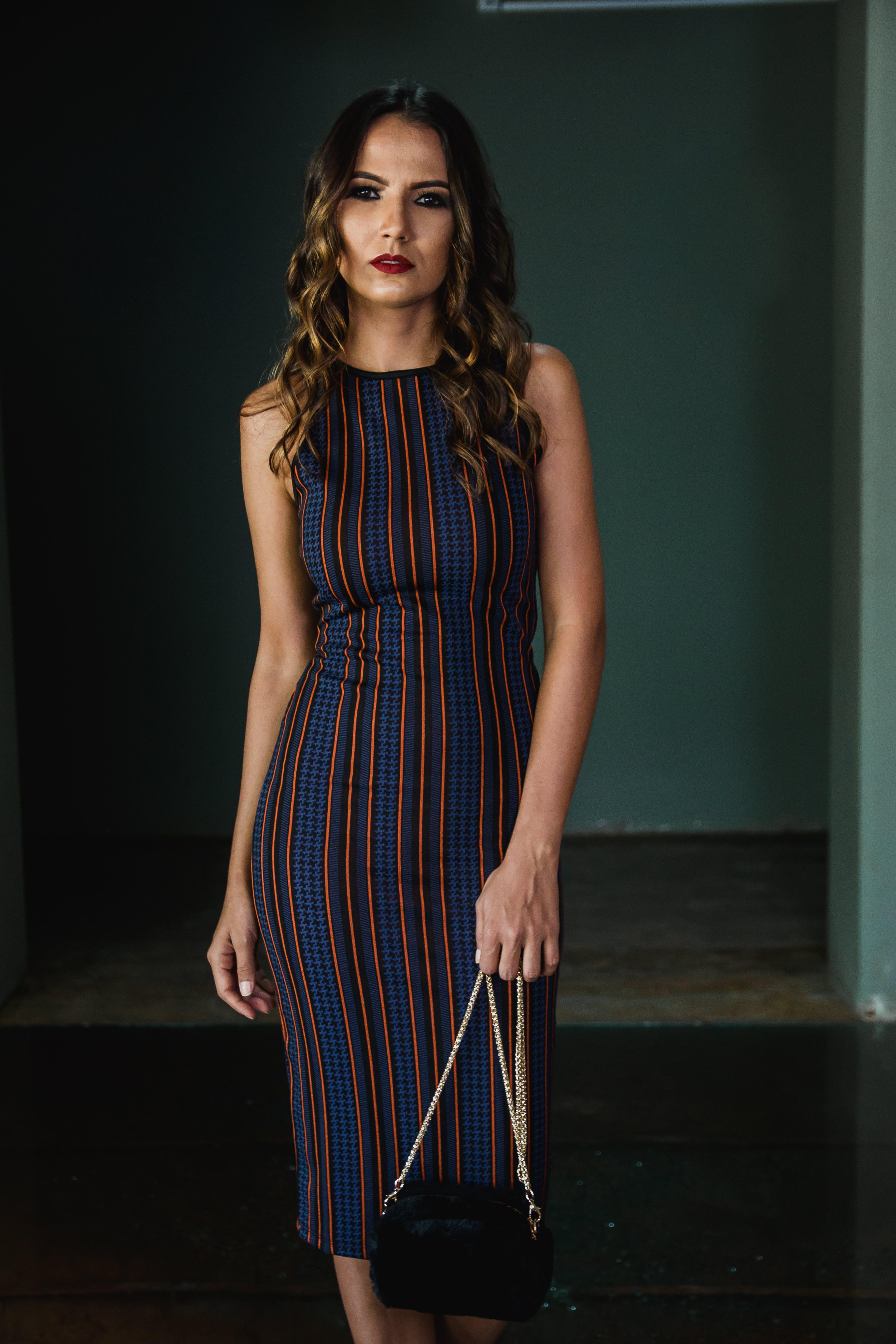 Photo of Woman Sleeveless Dress