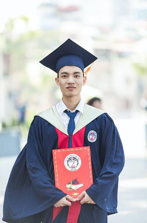 cerimònia, diploma, educació