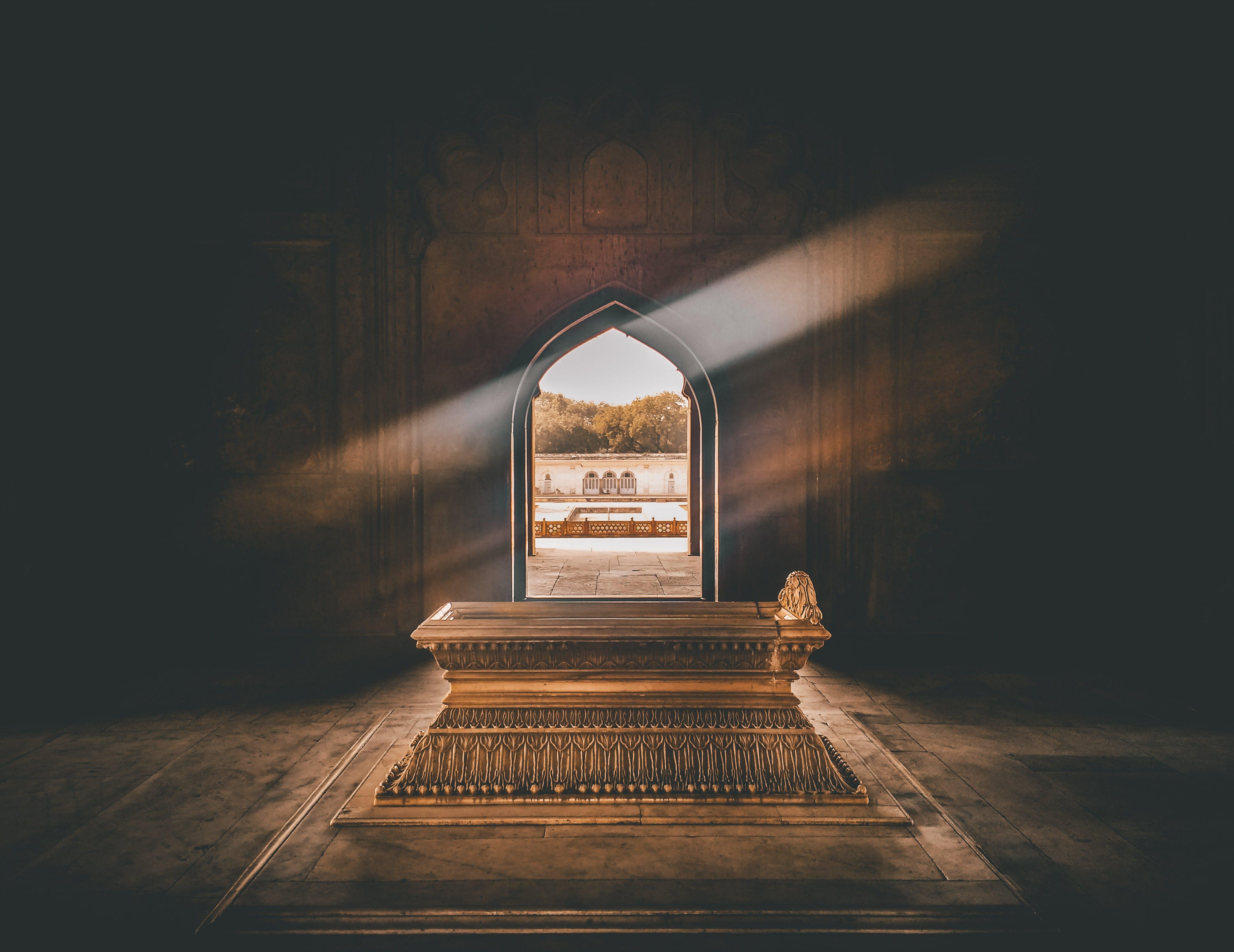 Hindistan, mezar, mimari, tabut içeren Ücretsiz stok fotoğraf