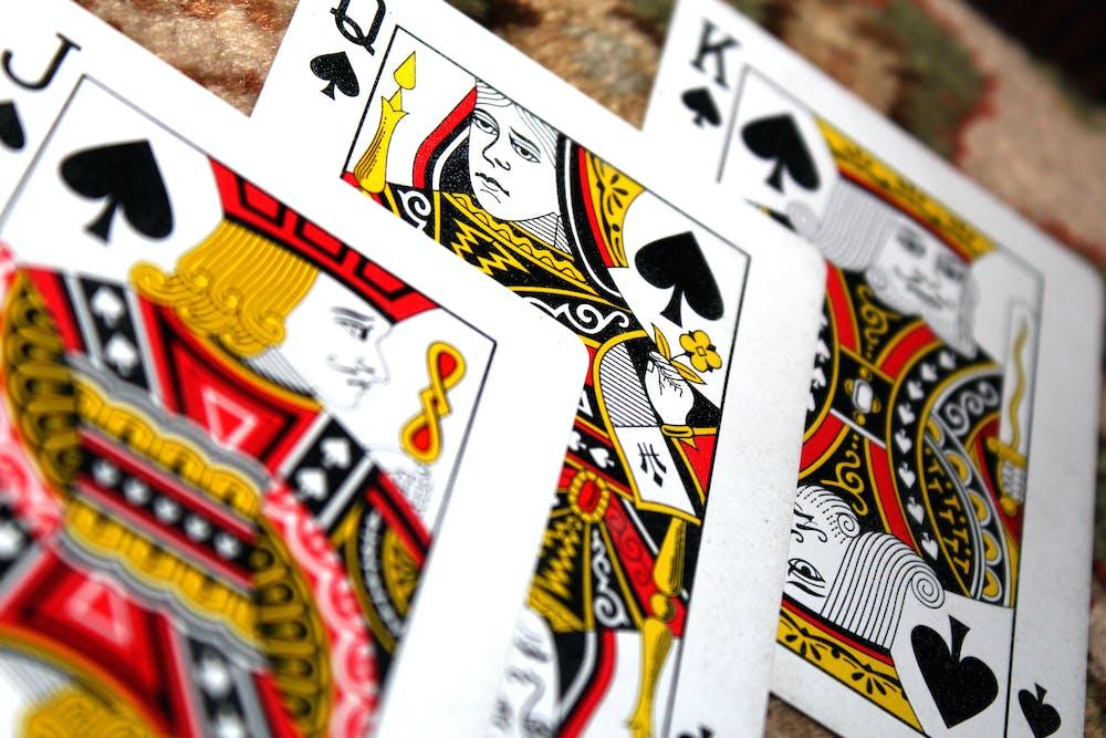 Bij een flush zijn alle vijf kaarten in je hand van dezelfde soort