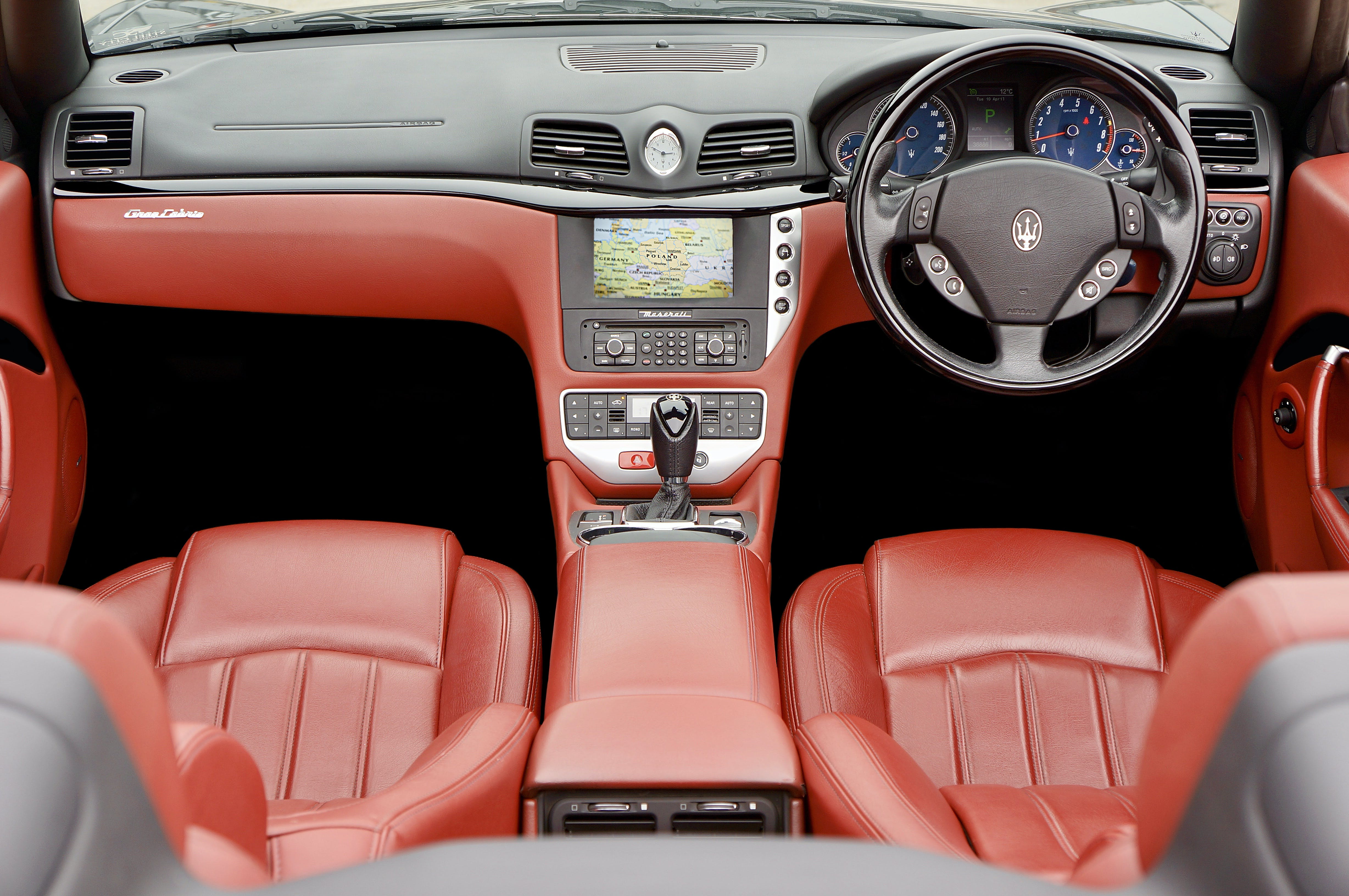 Maserati Leather Interior