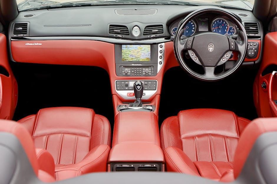 Maserati Leather Interior