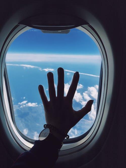คลังภาพถ่ายฟรี ของ กระจก, การขนส่ง, การท่องเที่ยว, การบิน