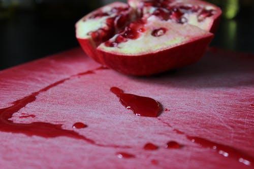 คลังภาพถ่ายฟรี ของ ทับทิม, น้ำผลไม้, ผลไม้, สด
