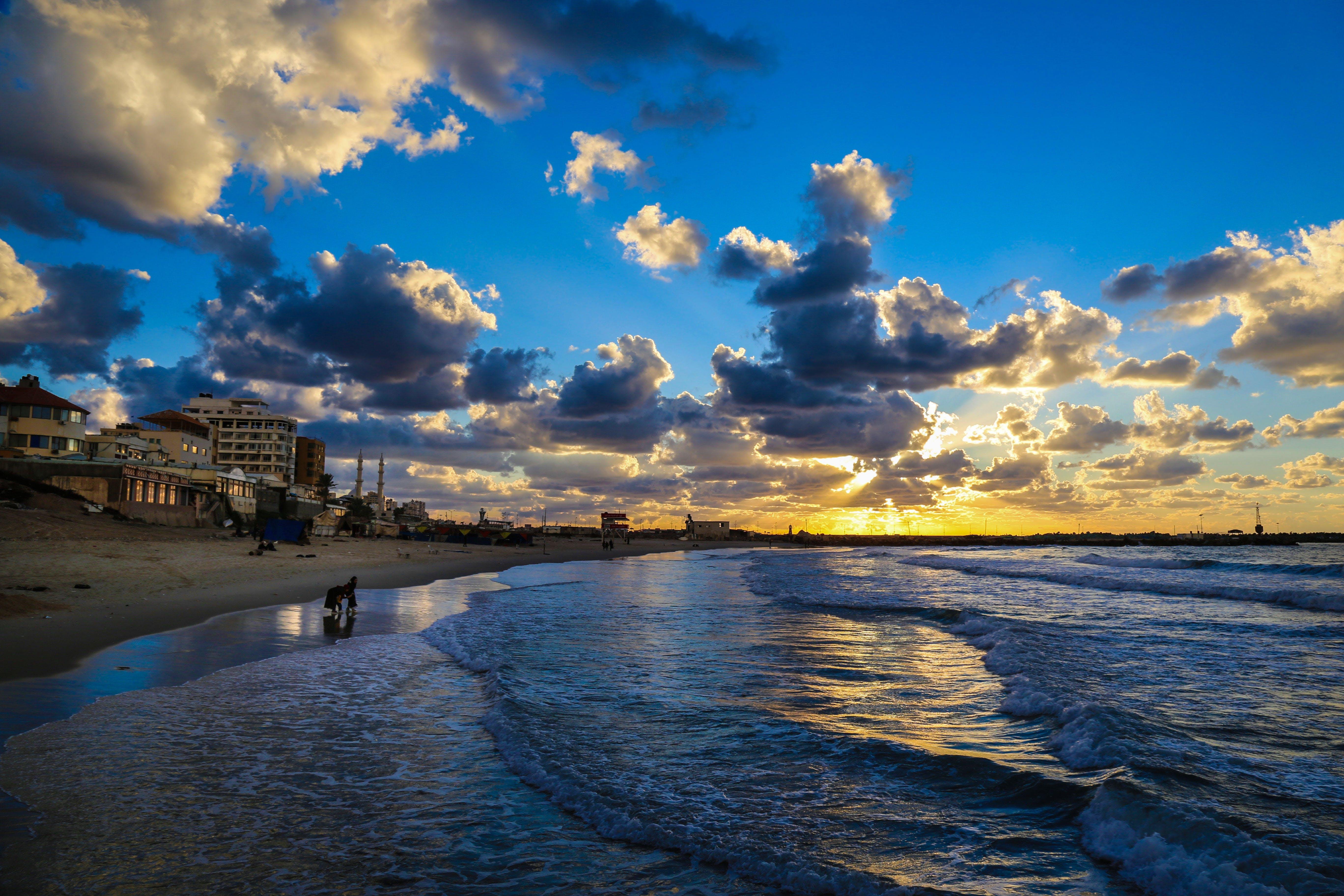 Photography of Seashore During Dusk