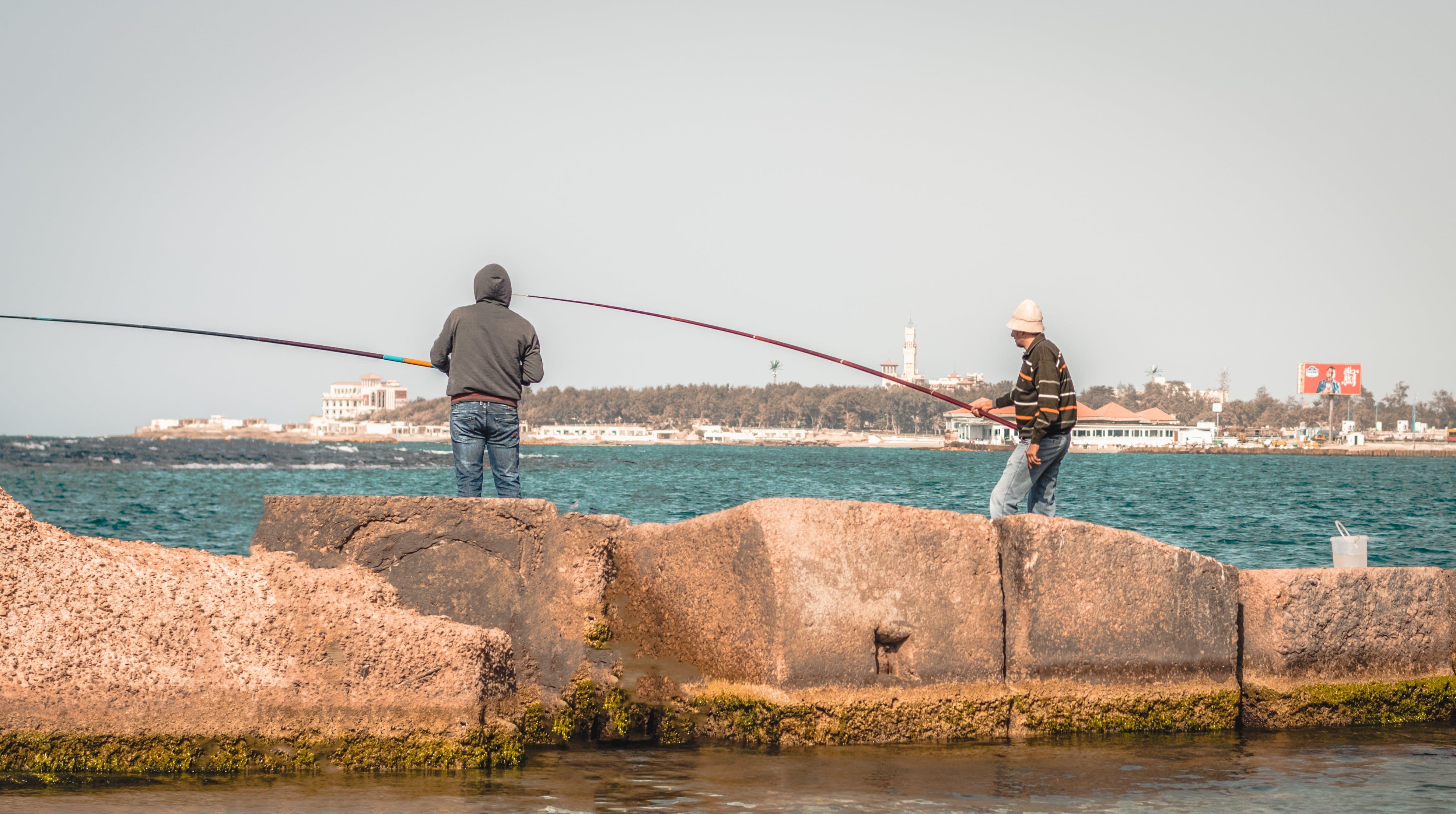 Free stock photo of #outdoorchallenge, action, beach, fisherman