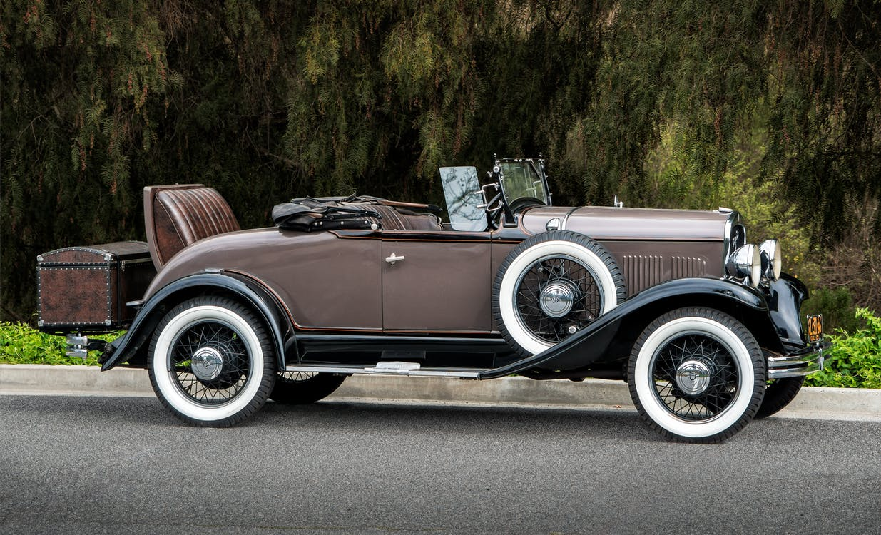 Vintage Brown Coupe