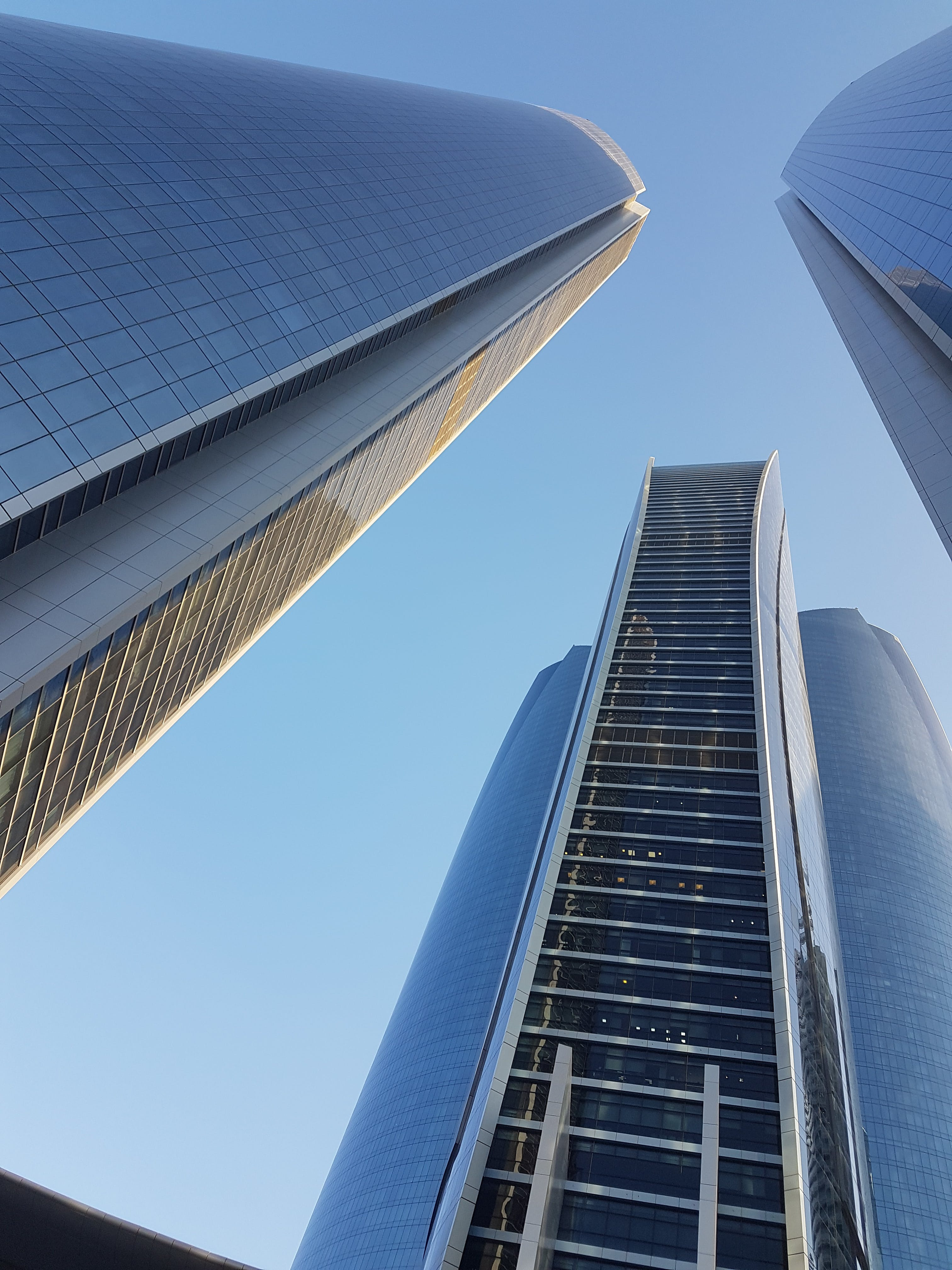 Low Angle Shot Of Buildings