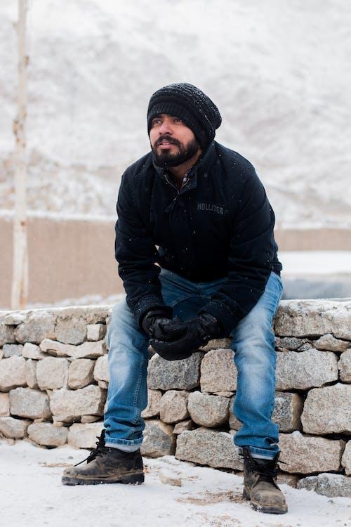 감기, 겉옷, 겨울, 꽁꽁 언의 무료 스톡 사진