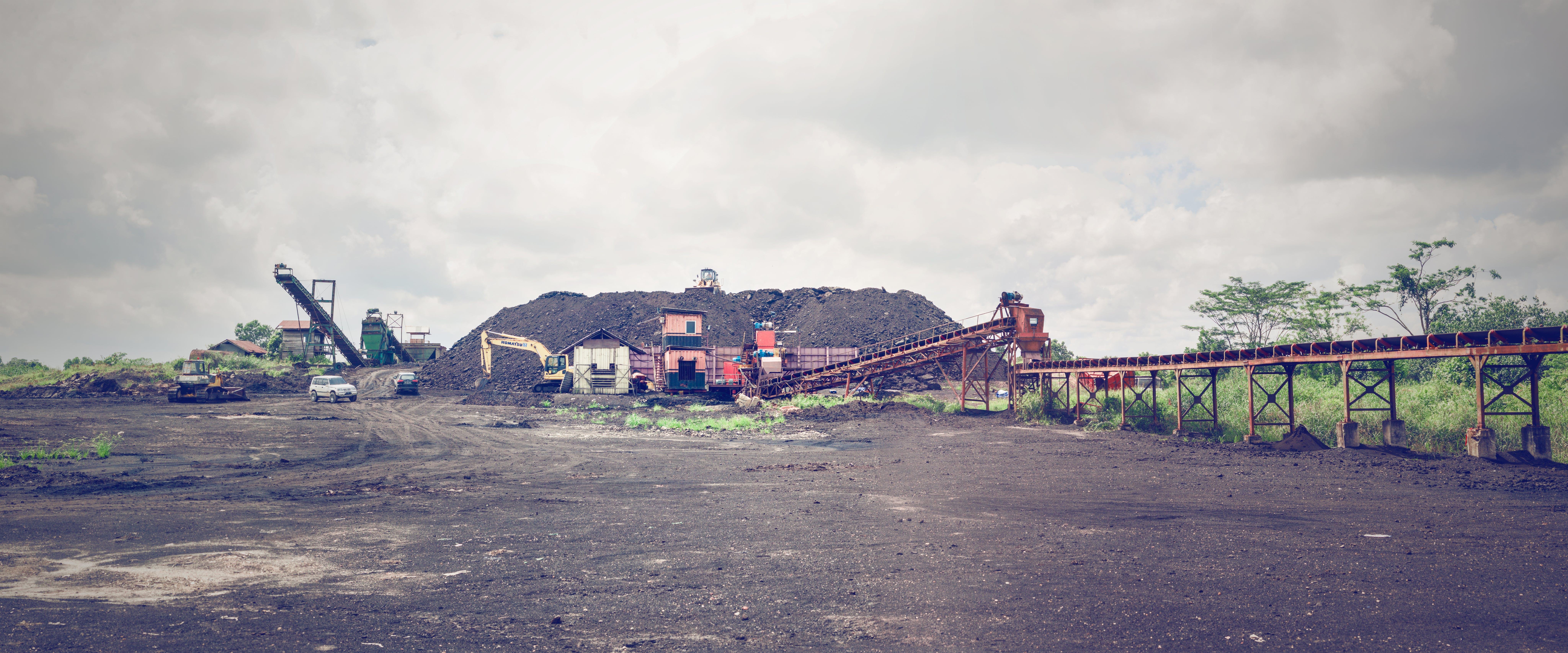 Free stock photo of brown coal, coal, coal mining, conveyor