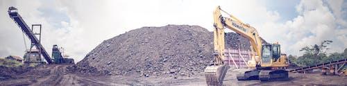 Foto profissional grátis de areia, caminhão, cascalho, construção