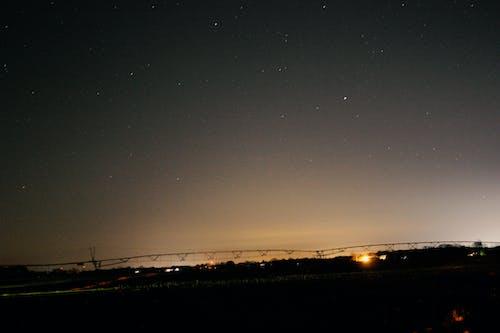 Ilmainen kuvapankkikuva tunnisteilla auringonlasku, kenttä, keskilänsi, kuu