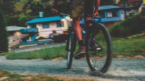 Foto stok gratis batu, bersepeda, bersepeda gunung, bmx