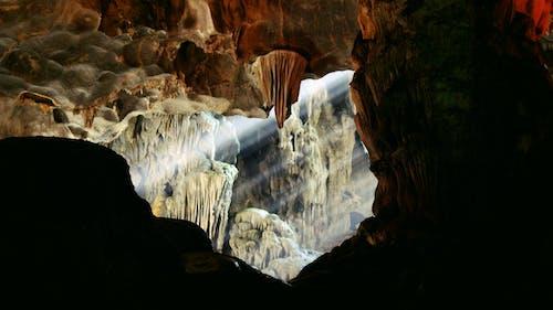 rayoflight ışık mağarası içeren Ücretsiz stok fotoğraf