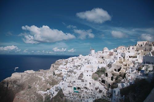 Gratis lagerfoto af arkitektur, bjerg, by, bygning