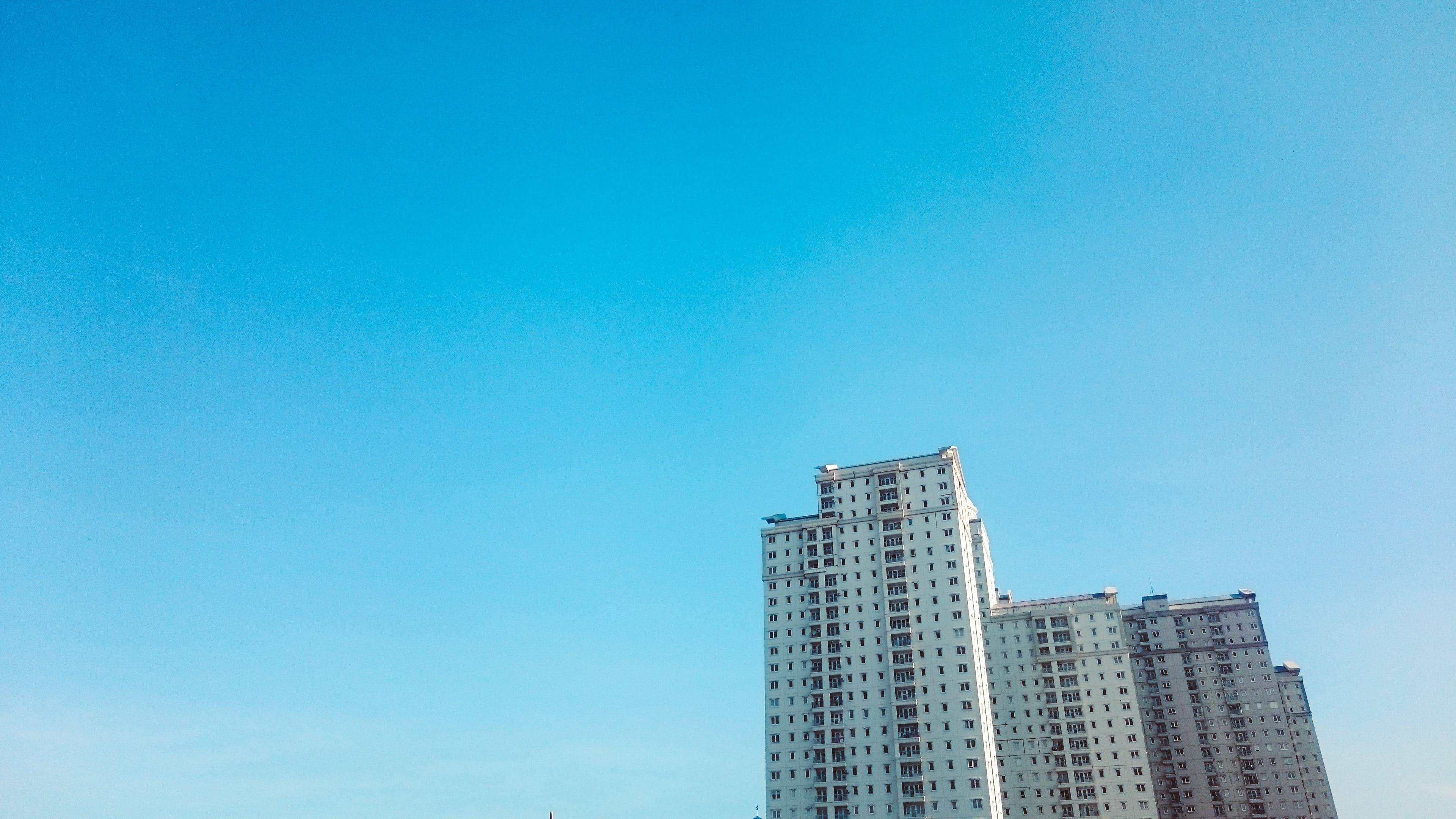 Kostenloses Stock Foto zu stadt, himmel, skyline, büro