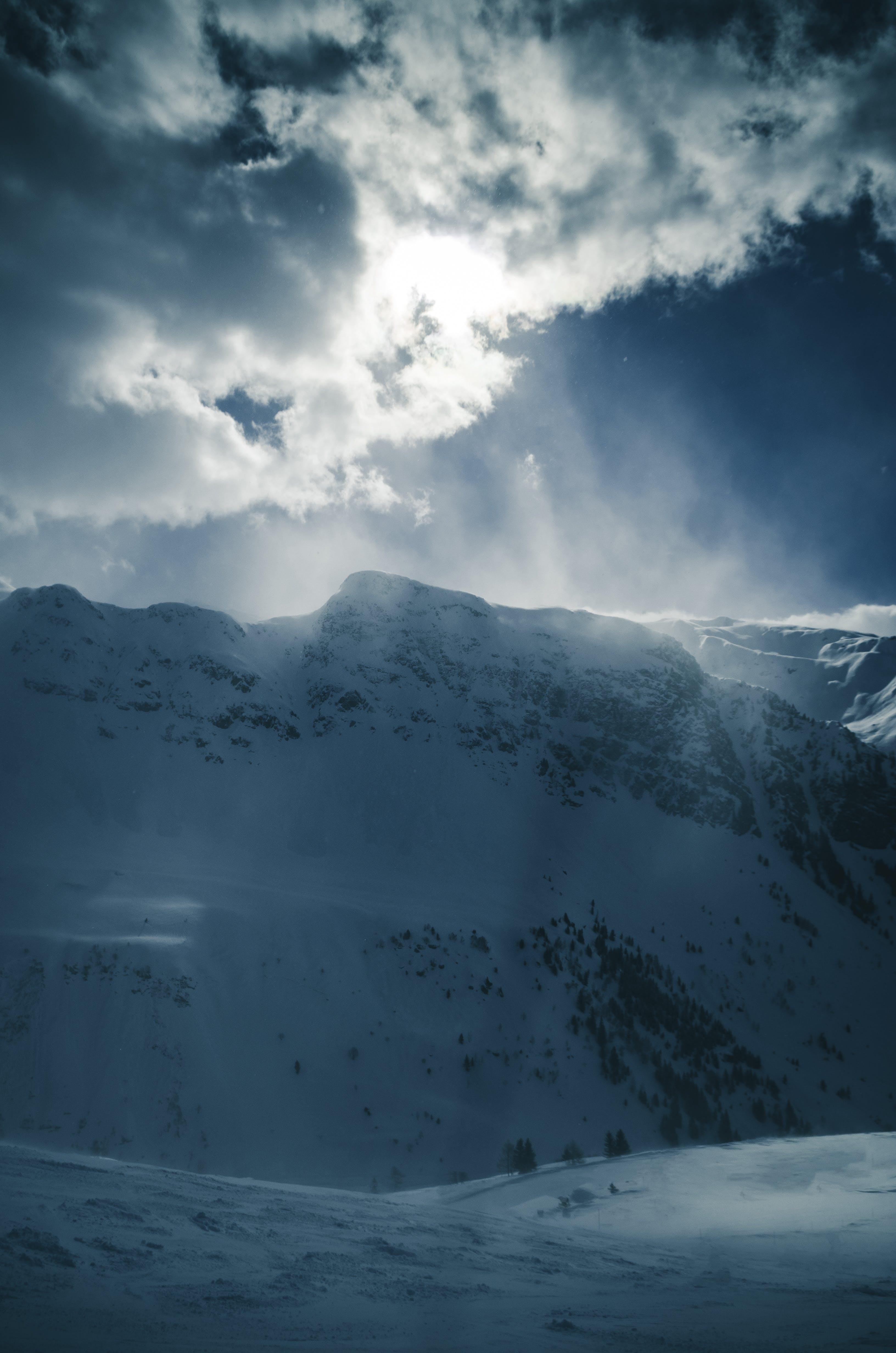 Kostenloses Stock Foto zu berg, himmel, kalt, landschaft