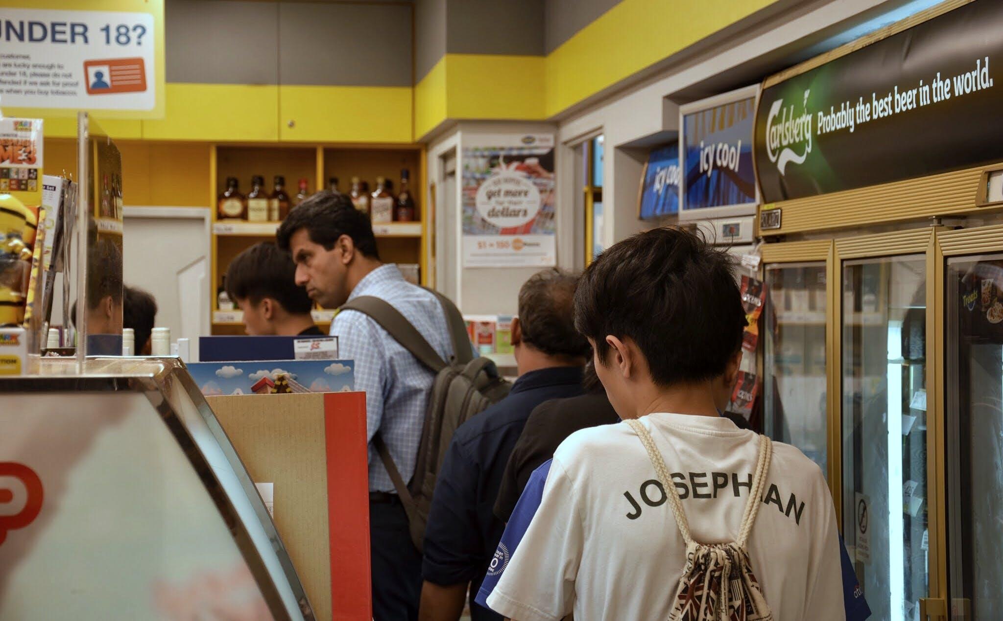 Free stock photo of 7-Eleven, people, singapore, street