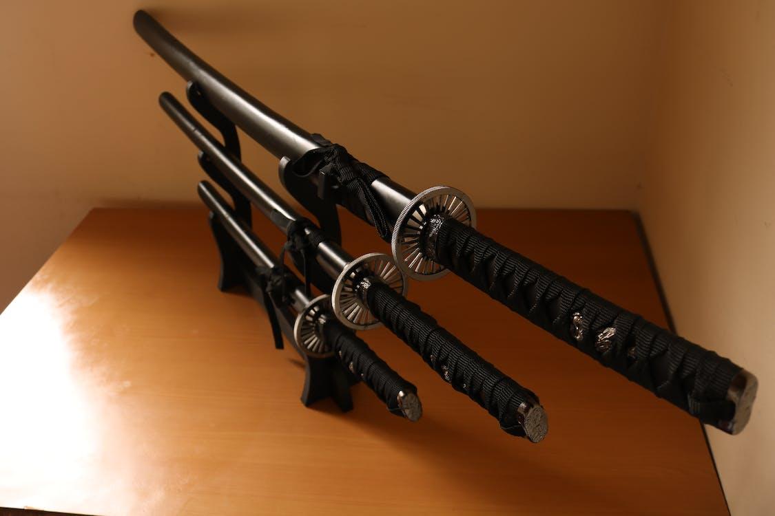 Free stock photo of espadas, Katana, samurai