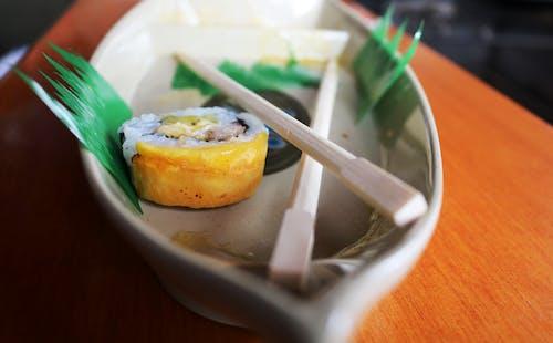 Pair of Chopstick on Saucer