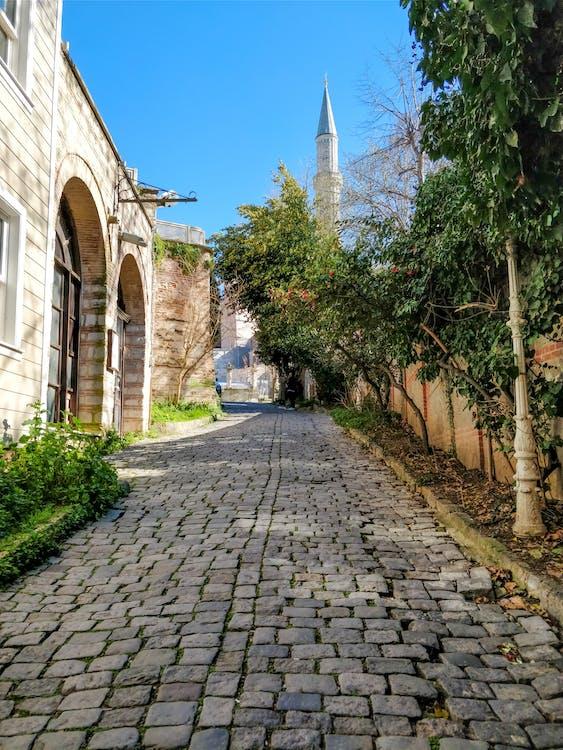 gammal stad, Kalkon, moské