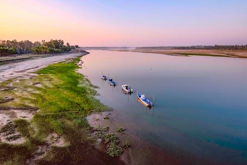 Základová fotografie zdarma na téma čluny, denní světlo, idylický, krajina