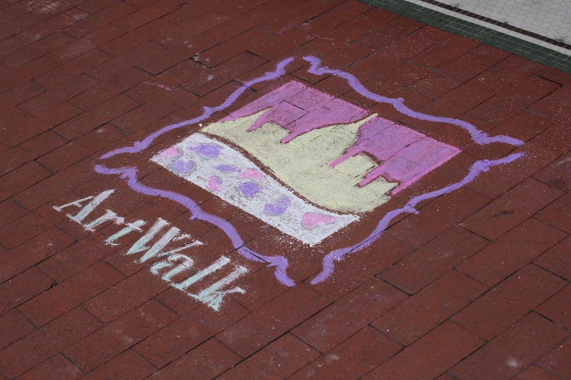 artwalk, brick, brick street