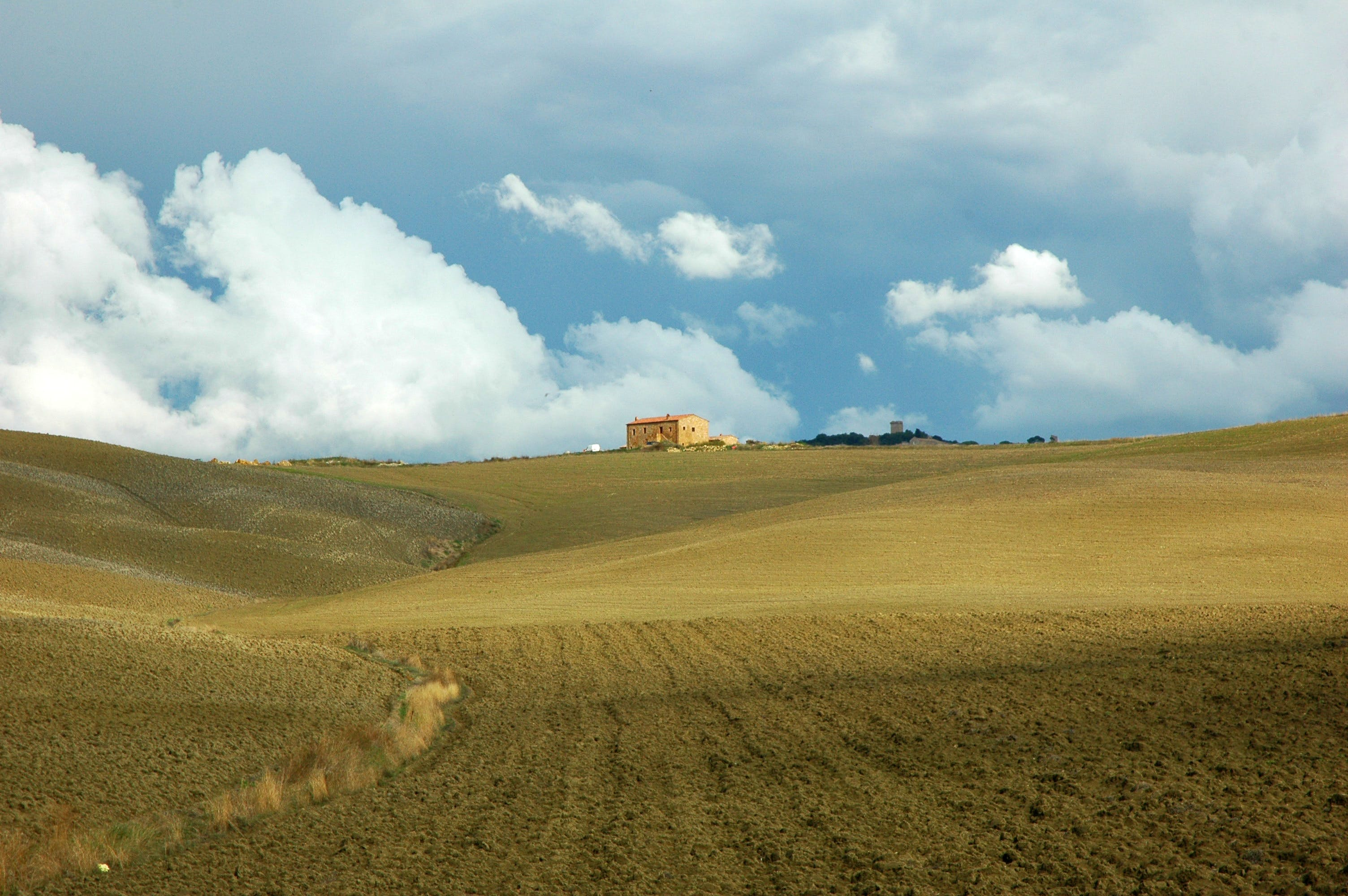Free stock photo of landscape, ochre, tuscany