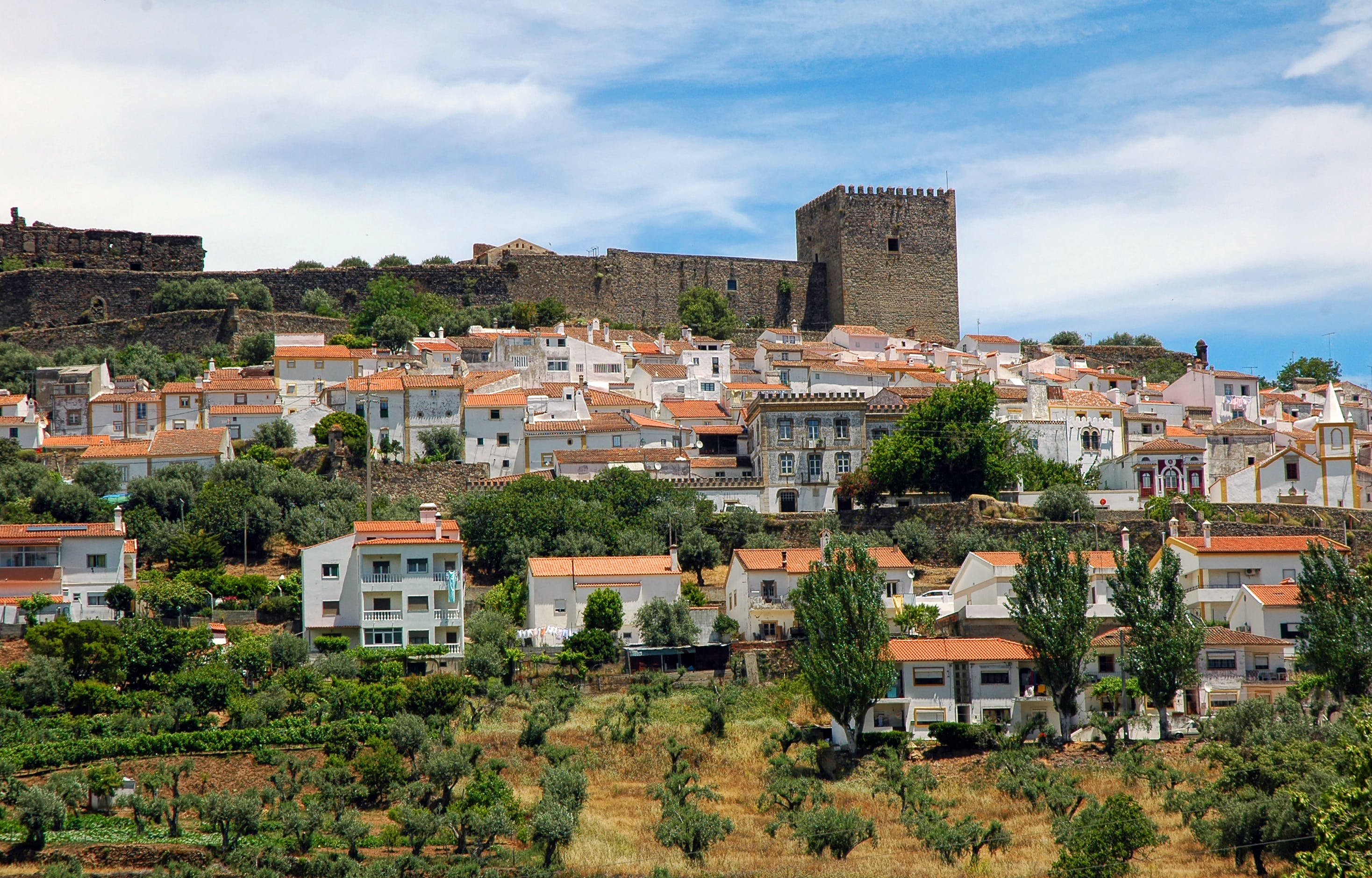 Free stock photo of alentejo, Castelo de Vide, castle, city