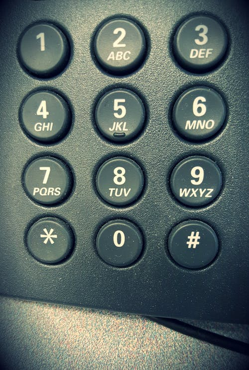 Free stock photo of deskphone, dial, dialer, Numberpad