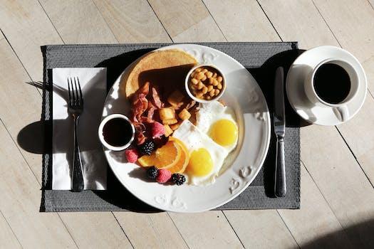 Food Gourmet on Top of Brown Table
