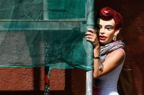 Gratis lagerfoto af Anonym, byggeplads, gadekunst, maske