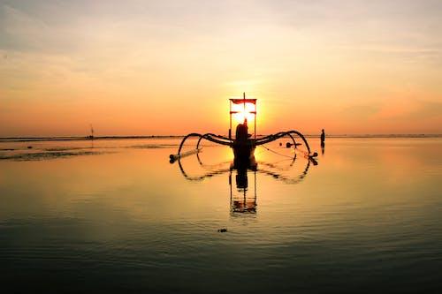 Gratis lagerfoto af båd, hav, havudsigt, himmel