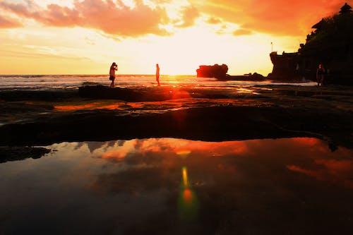 Ingyenes stockfotó ég, emberek, felhők, Napkelte témában
