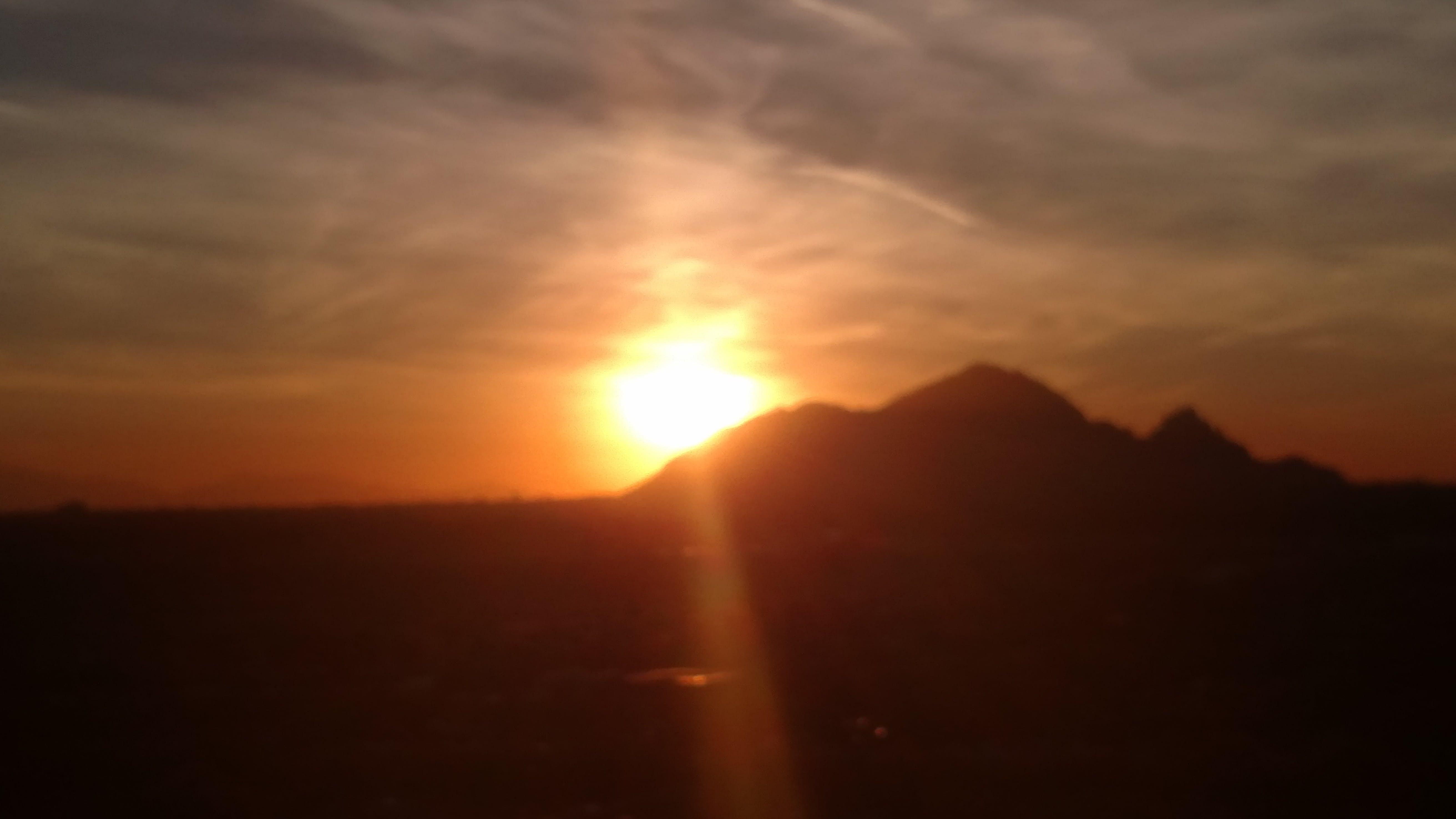 Základová fotografie zdarma na téma camelback západ slunce