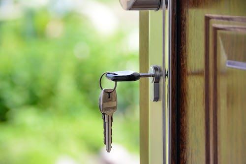 Foto d'estoc gratuïta de bloquejar, bloquejat, casa, claus
