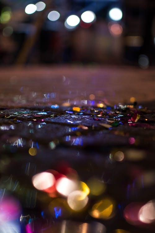 Foto d'estoc gratuïta de art, desenfocament, pluja