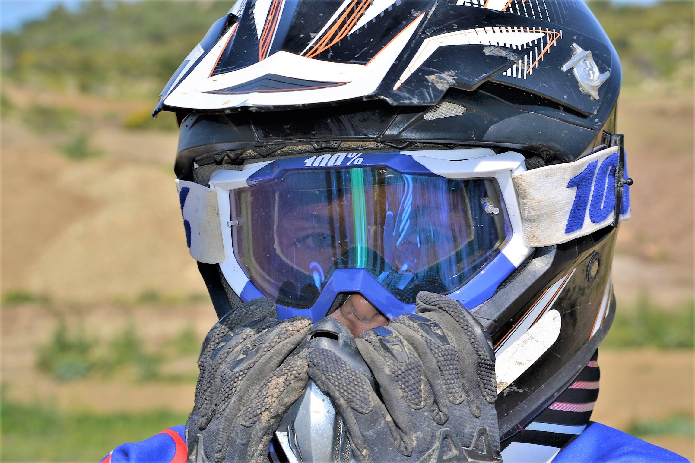 Free stock photo of biker, eyeglasses, face, helmet