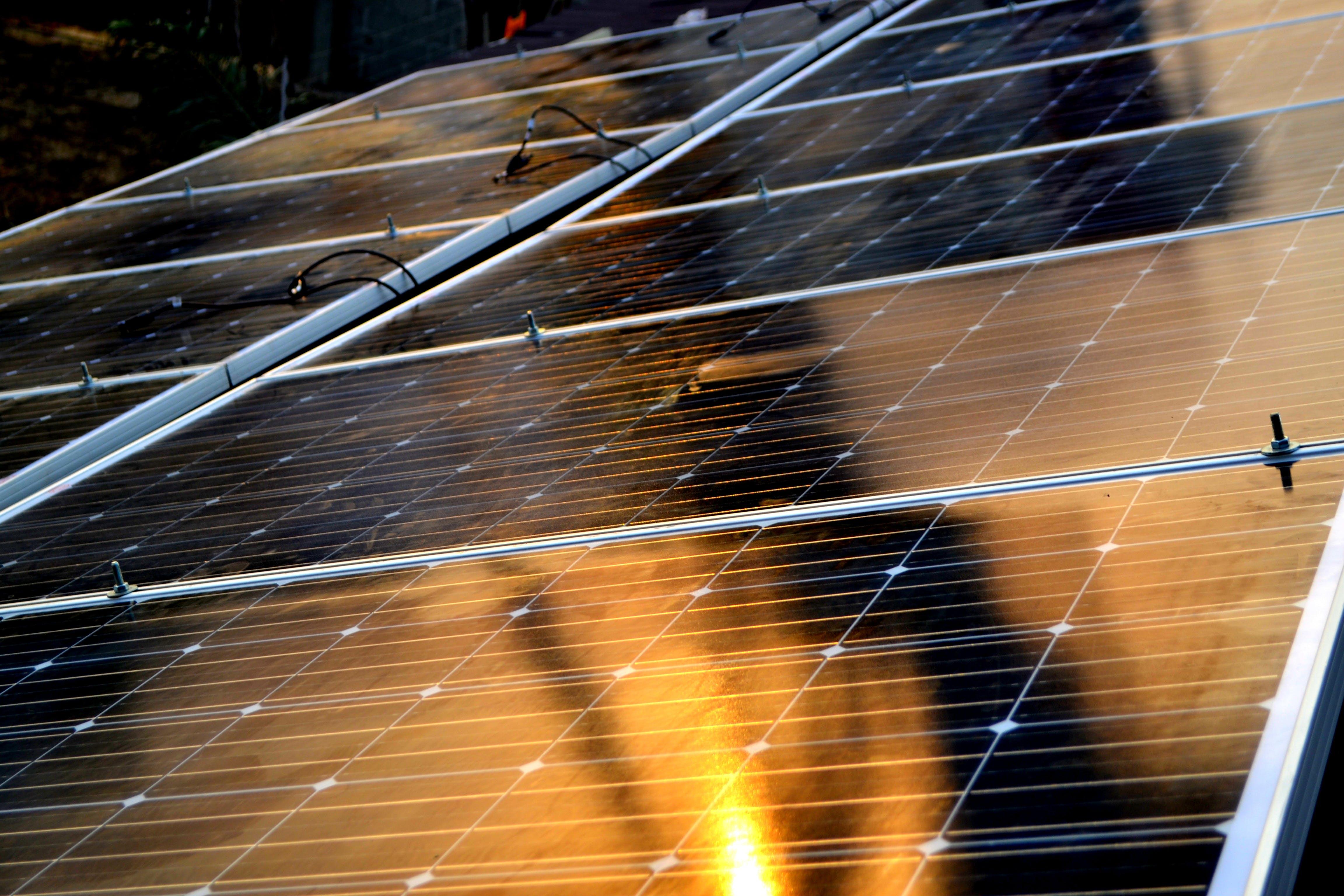 Free stock photo of kalorfulspace, solar panel