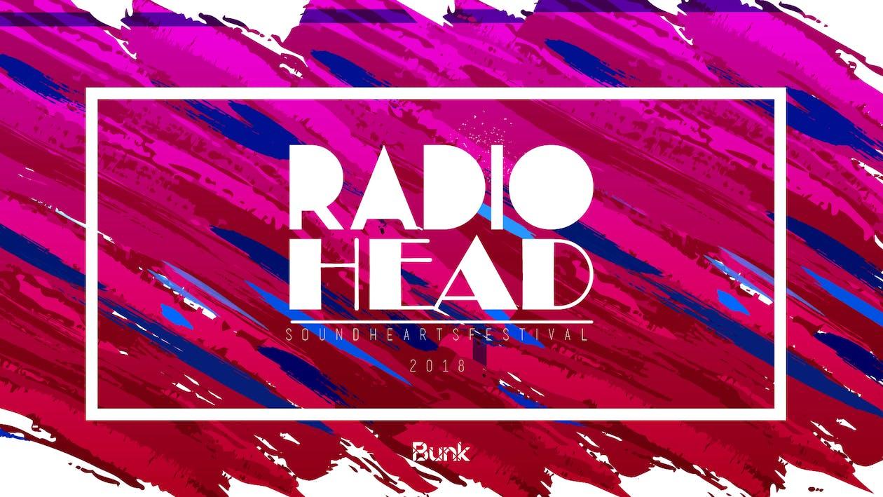 Free stock photo of music, radiohead, sound hearts festival
