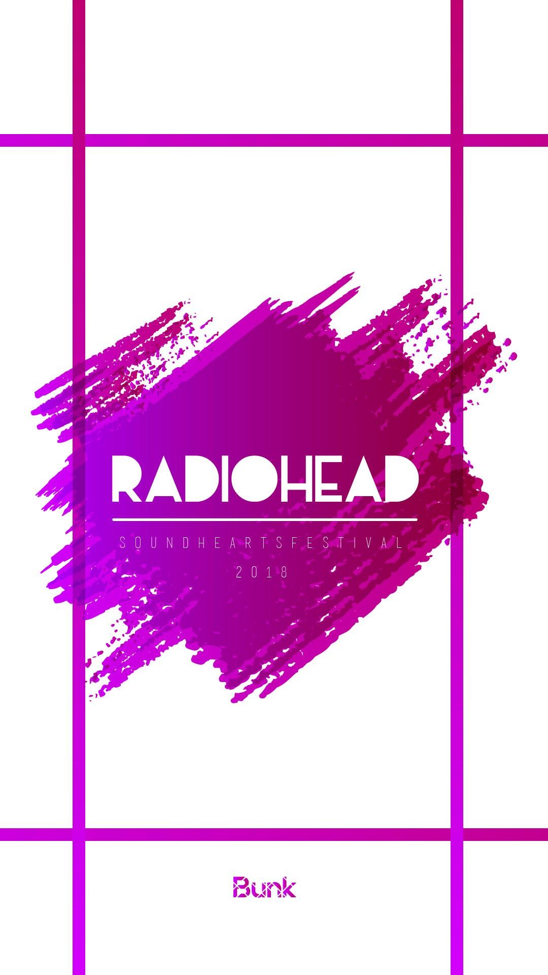 Free stock photo of music, radiohead, SoundHeartsFestival