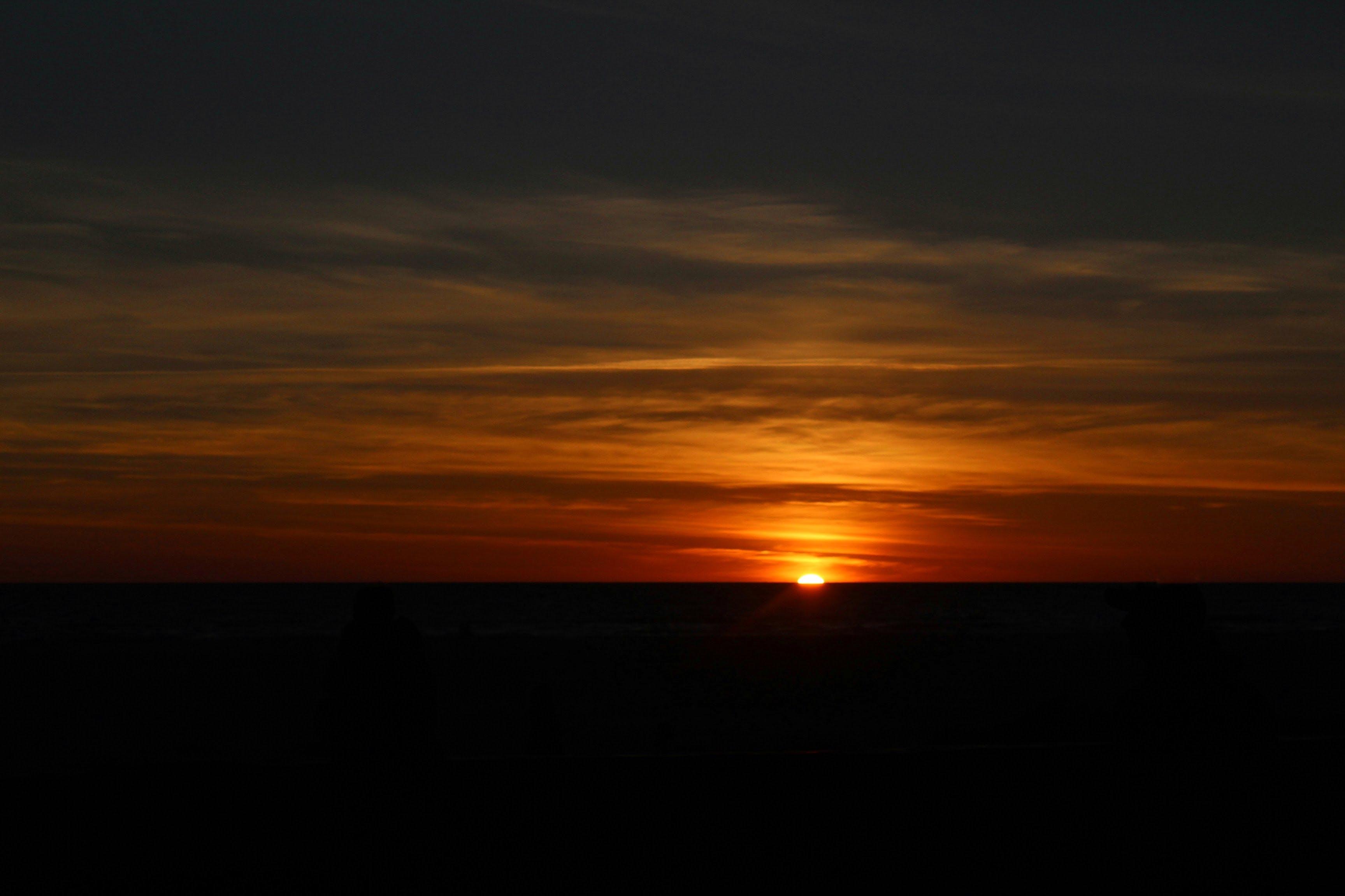 Landscape Photo of Golden Hour