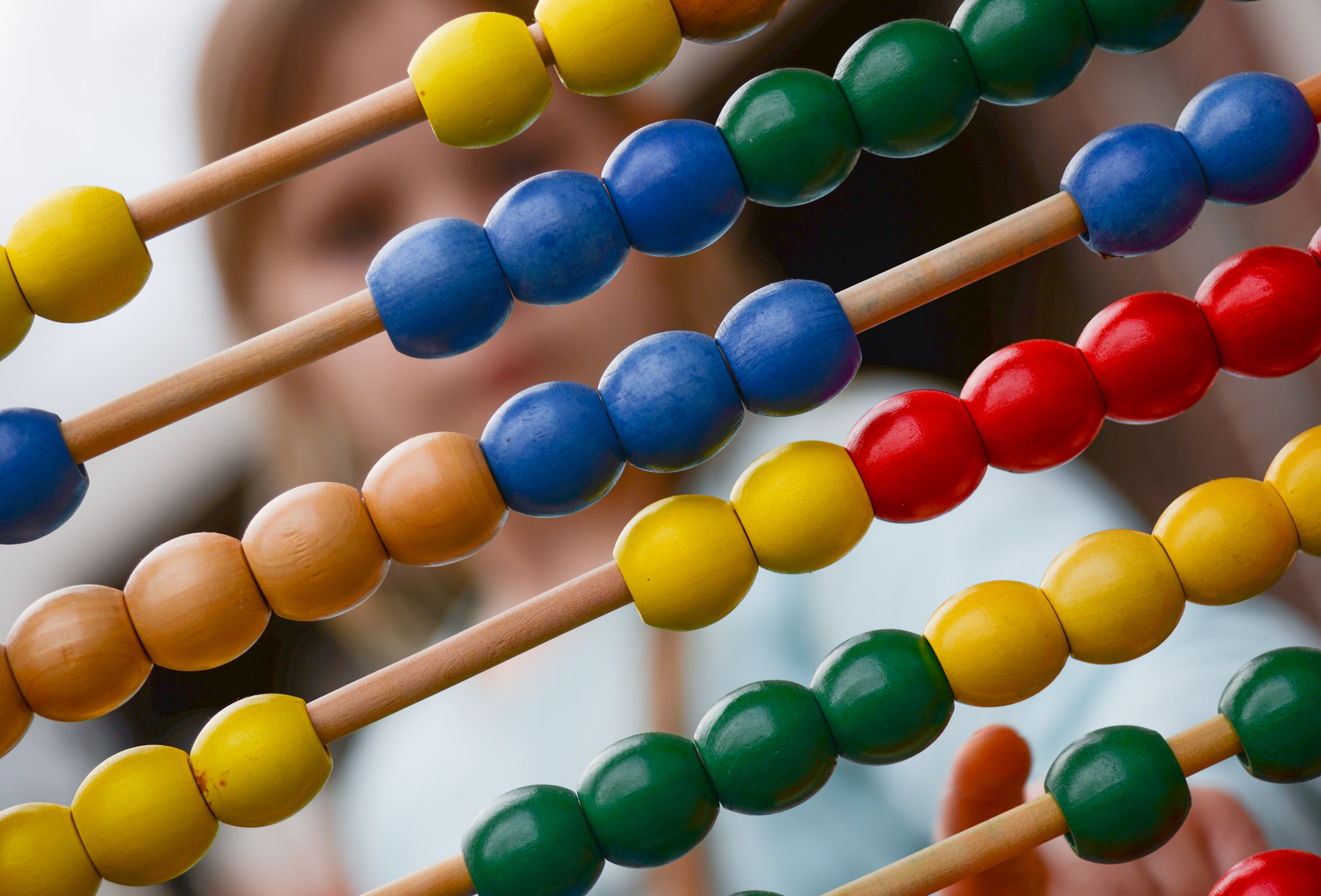 Multicolored Abacus Photography